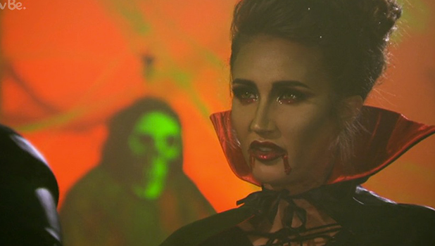 TOWIE: Lockie talks to Megan at Halloween special 30 October 2016