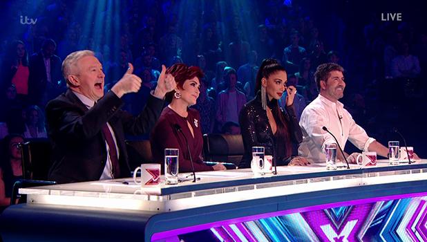X Factor judges on Fright Night 2016