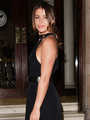 The Only Way Is Essex star Chloe Lewis attends the Boux Avenue party, London, 9 November 2016