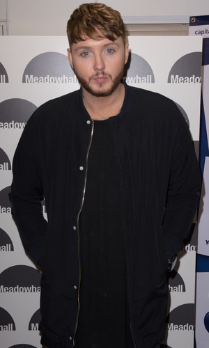 James Arthur at Christmas Lights Switch On at Meadowhall Sheffield 3 November
