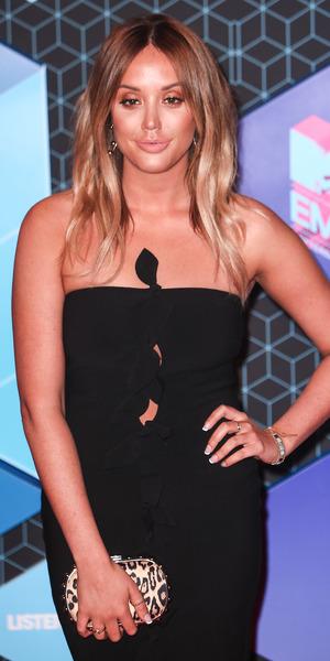 Charlotte Crosby at MTV EMAs, Rotterdam 6 November