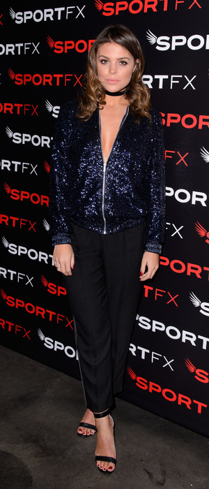 TOWIE star Chloe Lewis at the SPORTFX cosmetic and sports launch party, London, UK - 10 Nov 2016