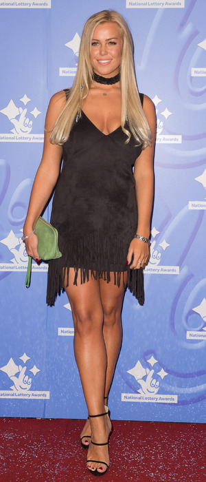 TOWIE star Chloe Meadows at the National Lottery Awards, London, September 2016