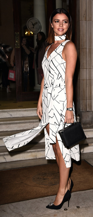 Former TOWIE star Lucy Mecklenburgh attends the Boux Avenue party, London, 9 November 2016