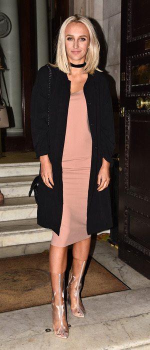 Made In Chelsea star Tiffany Watson at the Boux Avenue event, London, 9 November 2016