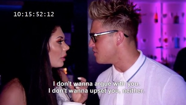 Geordie Shore: Chloe Ferry and Marty McKenna clear the air 8 November