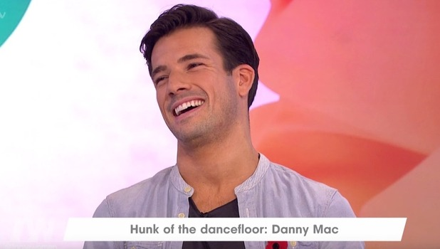 Danny Mac, Loose Women, ITV 9 November