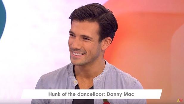 Danny Mac on ITV's Loose Women, 9 November