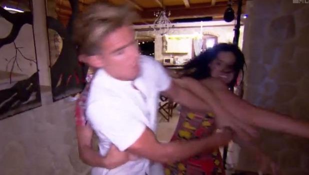 Geordie Shore: Gaz Beadle and Chloe Ferry clash 11 November