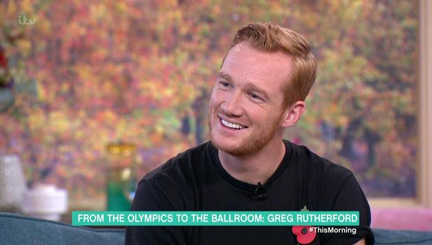 Greg Rutherford on ITV's This Morning 9 November