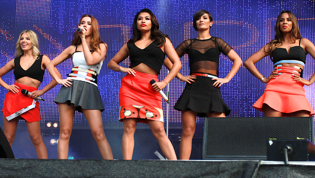 The Saturdays, North East Live 2014
