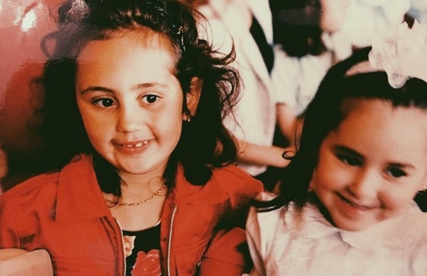 Sophie Kasaei and Marnie Simpson throwback photo, Instagram 8 November