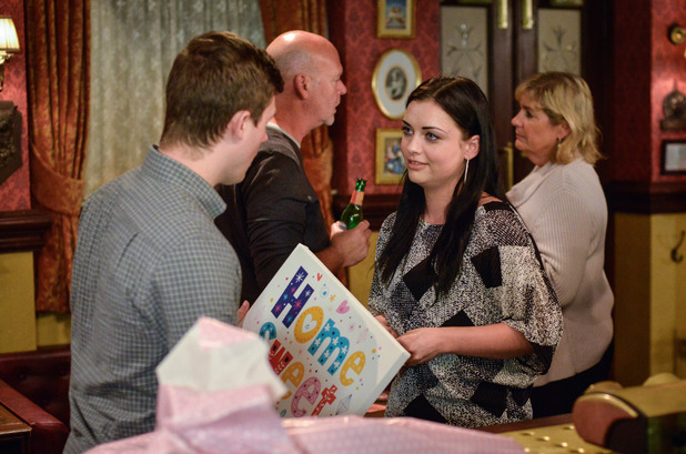 EastEnders, Whitney gives Lee his present, Thu 17 Nov