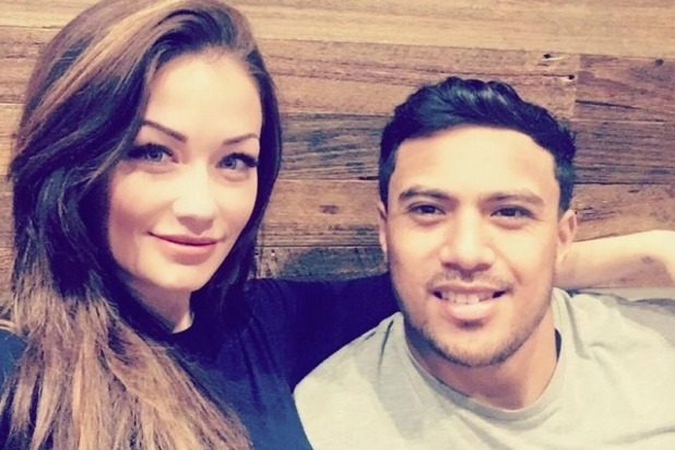 Jess Impiazzi and Denny Solomona, Instagram November 2016