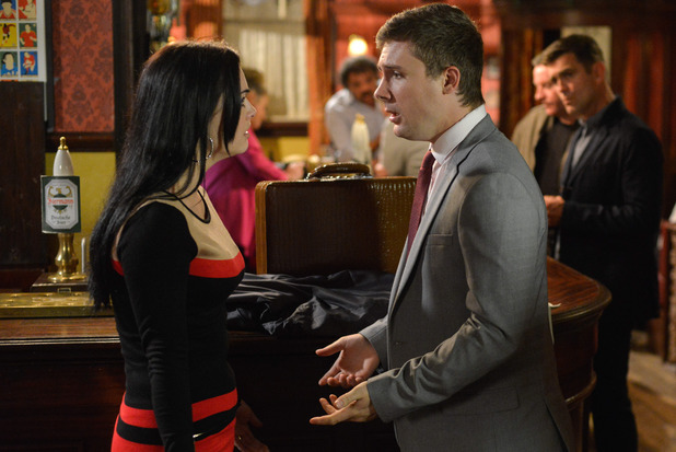 EastEnders, Lee lies to Whitney, Mon 14 Nov