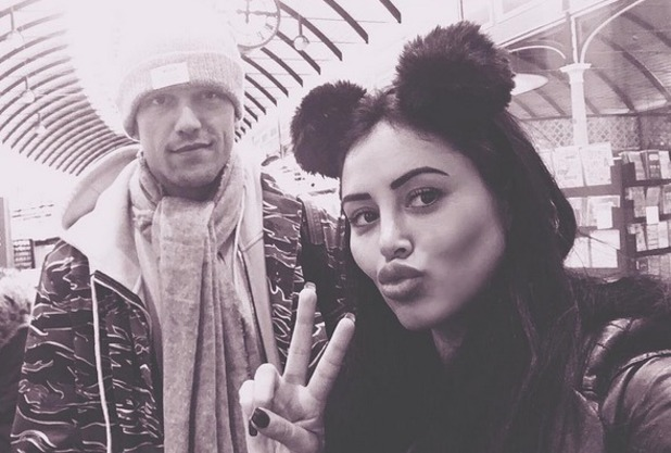 Lewis Bloor and Marnie Simpson selfie, Instagram 11 November 2016