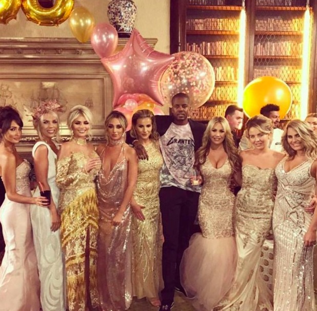 Cast line-up for TOWIE finale show, ITVBe, 8 November 2016