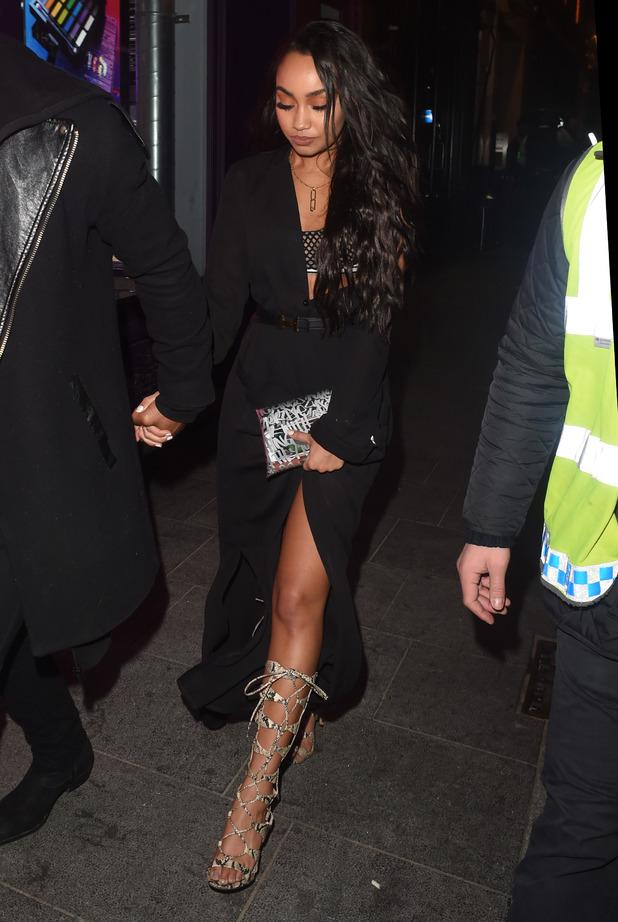 Little Mix Girls seen leaving Cirque Nightclub at 3am. Leigh Anne Pinnock 9 November 2016