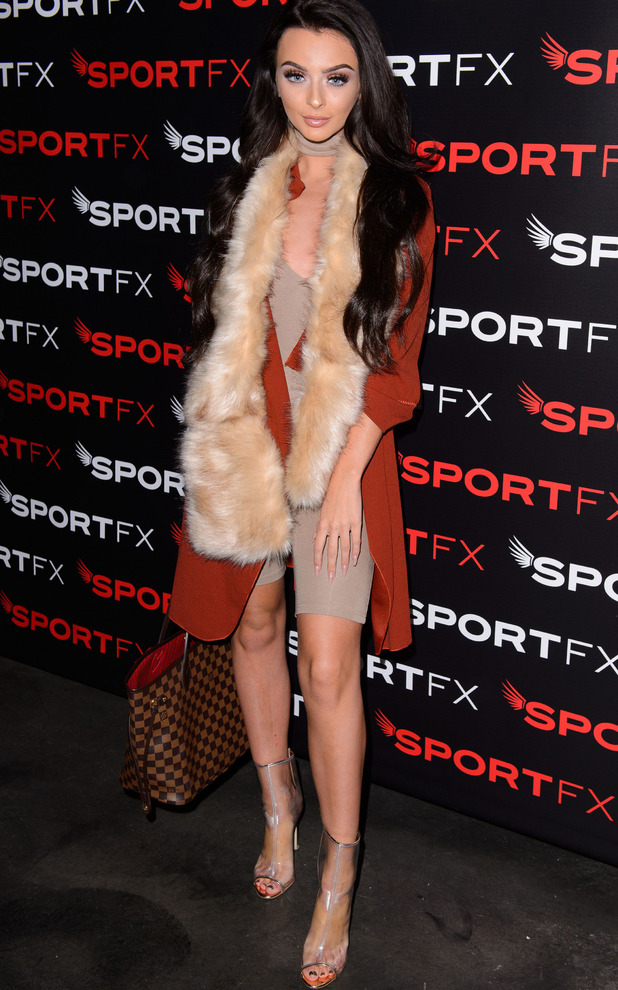 Love Island star star Kady McDermott at the SPORTFX cosmetic and sports launch party, London, UK - 10 Nov 2016