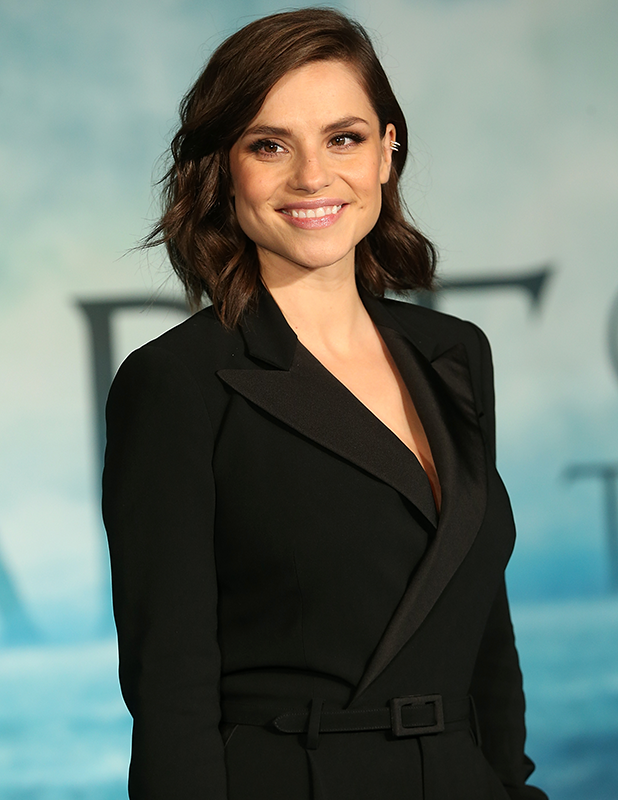 Charlotte Riley attends the UK Film Premiere of 'In the Heart of the Sea' at Empire Leicester Square on December 2, 2015 in London, England. (Photo by Danny Martindale/WireImage)