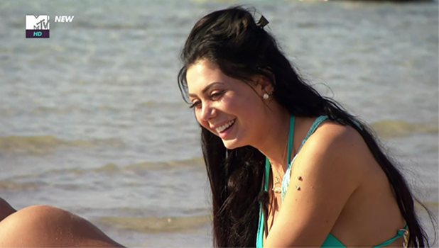 Marty McKenna tells Chloe Ferry how he feels about her while at the beach on 'Geordie Shore'. Broadcast on MTVHD 2016