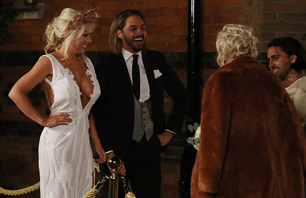 'The Only Way Is Essex' filming, Hampshire, UK - 06 Nov 2016 Mario Falcone, Frankie Essex, Chloe Sims and Liam Gatsby