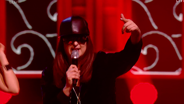 Honey G in X Factor live shows 2016