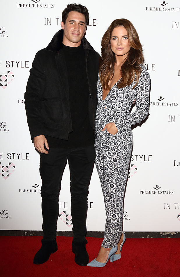 In The Style Party at Libertine, Winsley Street, London Binky Felstead and JP Patterson