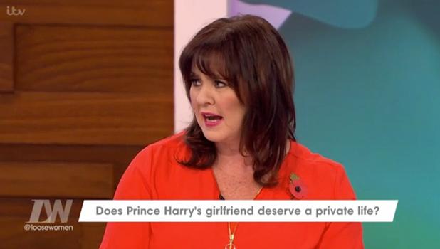 Loose Women debate Prince Harry's statement about Meghan Markle