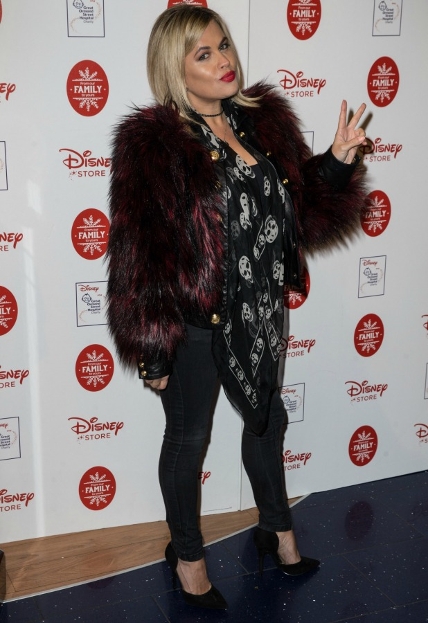 Disney Store Christmas VIP Party, London, UK - 09 Nov 2016 Nadia Essex