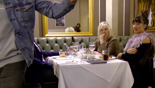 TOWIE: Pete and Megan meet for lunch with her parents 2016