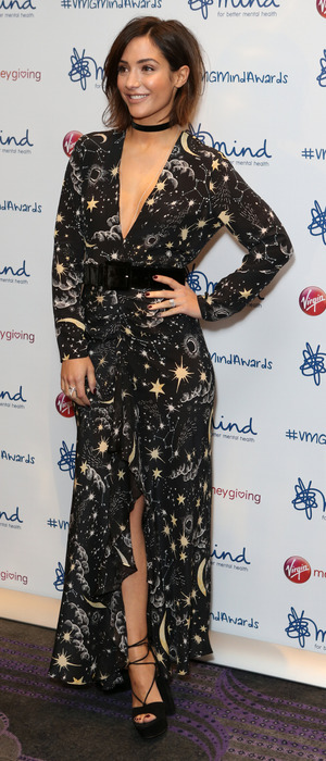 Frankie Bridge at Minds Awards in London, 14 November 2016