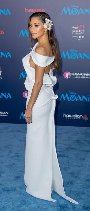 Nicole Scherzinger attends the Moana premiere in Calfornia, USA, 14 November 2016