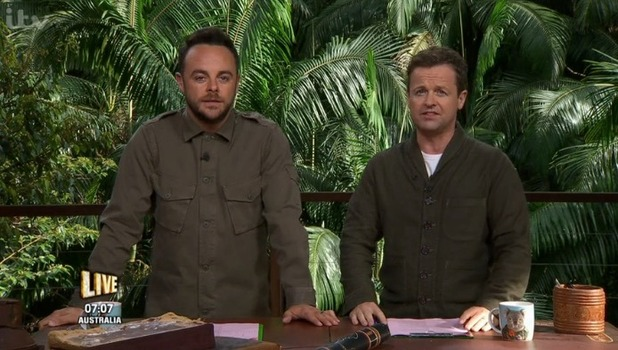 Ant and Dec make fun of the Great British Bake Off on I'm A Celebrity 14 November