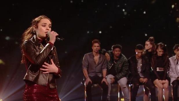 Sam Lavery leaves The X Factor, ITV 13 November