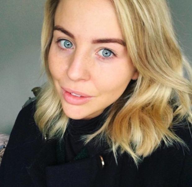 Lydia Bright no make-up selfie, 14 November 2016