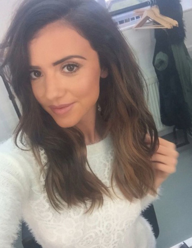 Lucy Mecklenburgh shows off her longer hair after extensions transformation, Instagram, 15 November 2016