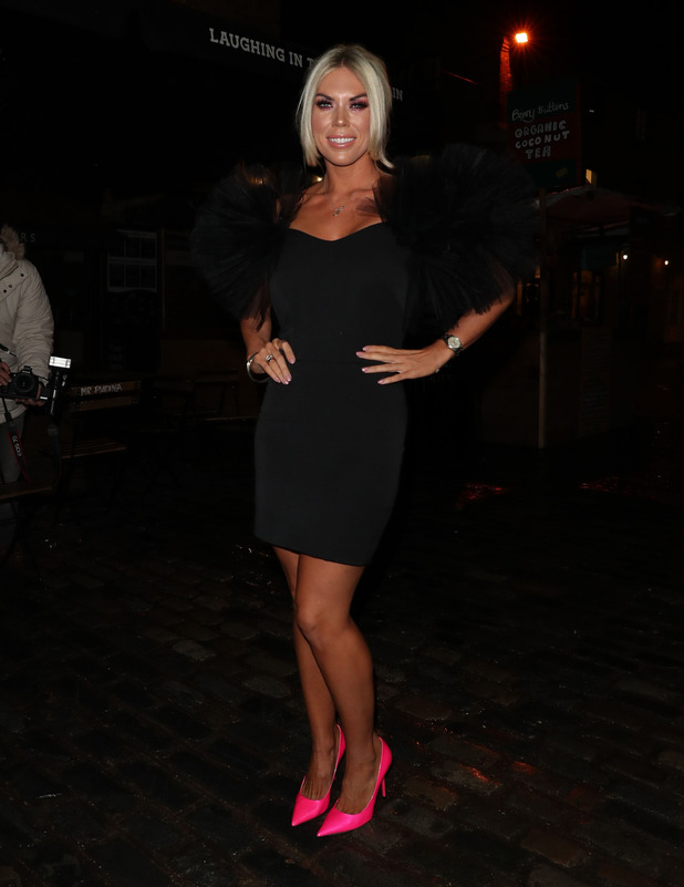 Former TOWIE star Frankie Essex celebrates fitness DVD launch party, London, 15 November 2016