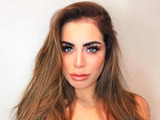 Love Island star Katie Salmon shows off her caramel coloured hair on Instagram, 15 November 2016