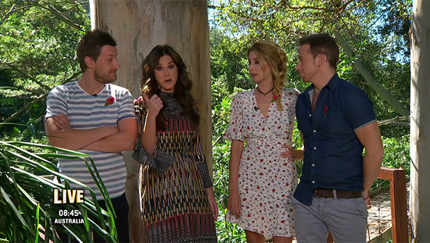 I'm a Celebrity...Get Me Out of Here! Extra Camp! Chris Ramsey, Vicky Pattison, Stacey Solomon, Joe Swash 2016