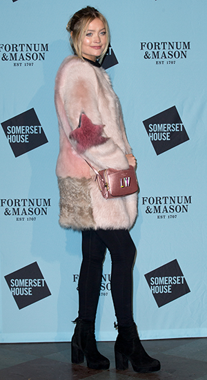 The Skate at Somerset House with Fortnum & Mason Launch Party held at the Somerset House - Arrivals Laura Whitmore