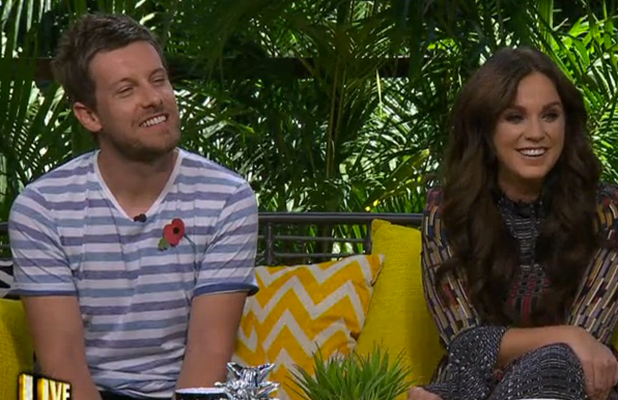 Vicky Pattison and Chris Ramsey on I'm A Celebrity: Extra Camp 2016