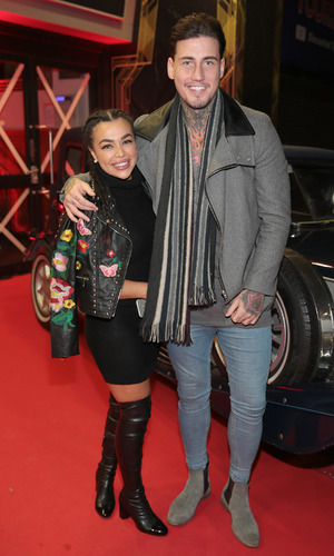Irish premiere of 'Allied' at the Savoy Cinema Jeremy McConnell and Bianca Lynch