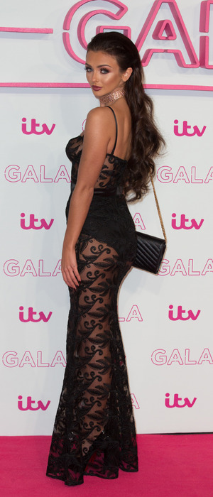 Love Island starlet Kady McDermott at ITV Gala London, 24 November 2016