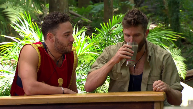 I'm A Celebrity: Joel Dommett and Adam Thomas in Bush Brewery trial 25 November