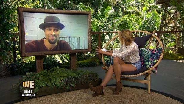Ashley Banjo appears on I'm A Celebrity: Extra Camp 23 November