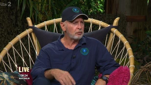 Bob McCarron on I'm A Celebrity: Extra Camp 22 November