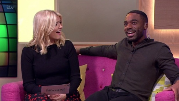Holly Willoughby and Ore Oduba on This Morning, ITV 24 November