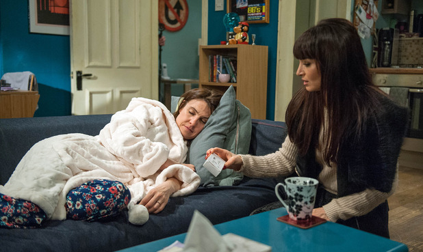 Emmerdale, Leyla finds Emma knocked out, Wed 23 Nov