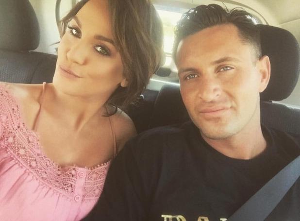 Vicky Pattison and boyfriend John Noble in Australia 24 November